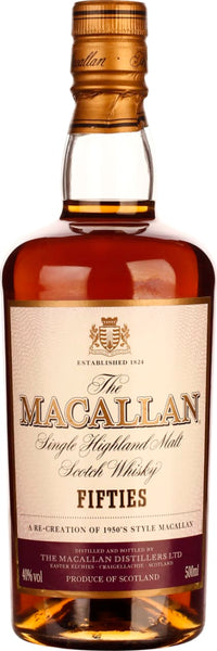 The Macallan Fifties Travel Series 50cl - Aristo Spirits