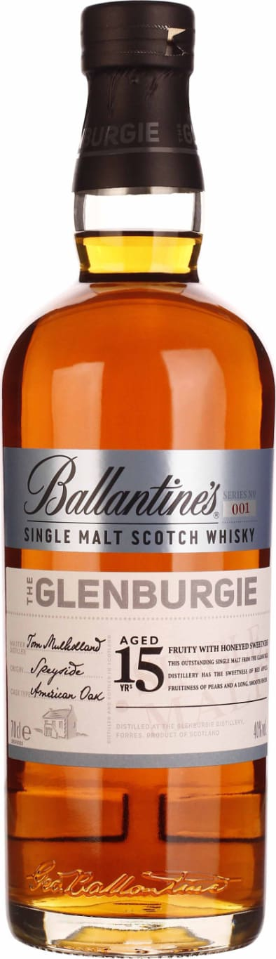 Ballantines 15 years Glenburgie 70CL - Aristo Spirits