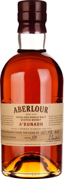 Aberlour A'Bunadh Batch 59 70CL - Aristo Spirits