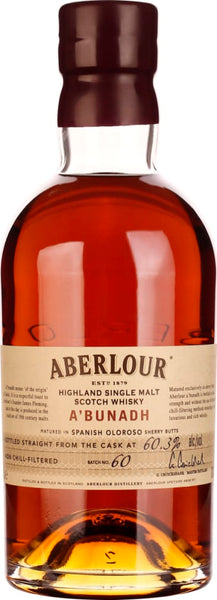 Aberlour A'Bunadh Batch 60 70CL - Aristo Spirits