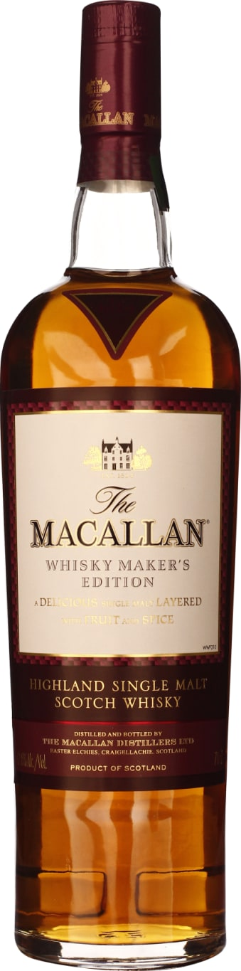 The Macallan X-Ray Makers Edition No.5 Natural Color 70CL - Aristo Spirits