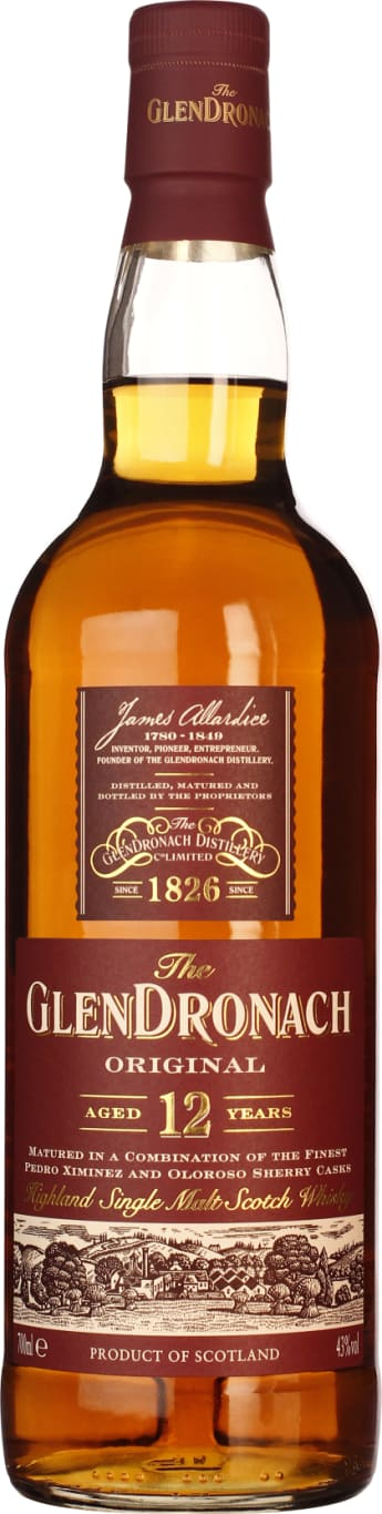 GlenDronach 12 years Bottled 2018 Original 70CL - Aristo Spirits