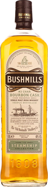 Bushmills Steamship Collection Bourbon Cask Reserve 1LTR - Aristo Spirits