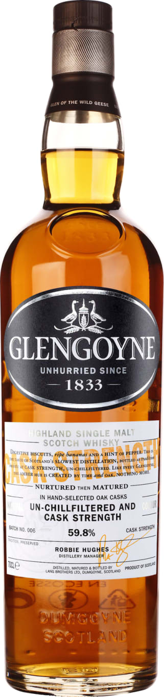 Glengoyne Cask Strength Batch 6 70CL - Aristo Spirits