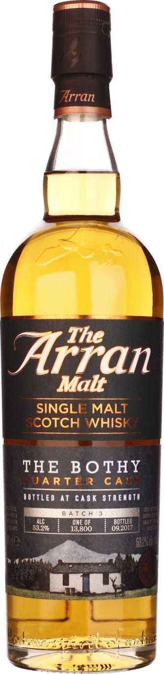 Arran Bothy Quarter Cask Batch 3 70CL - Aristo Spirits