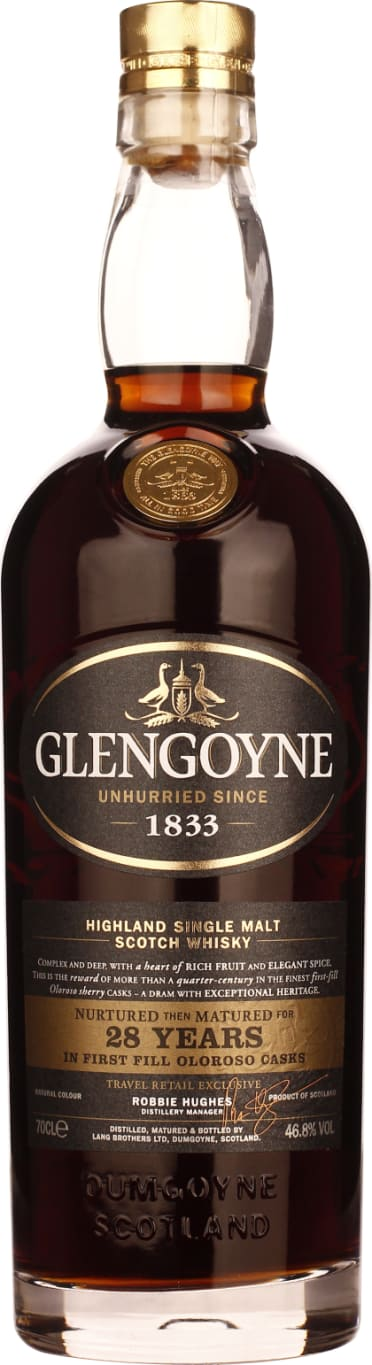 Glengoyne Single Malt 28 years 70CL - Aristo Spirits