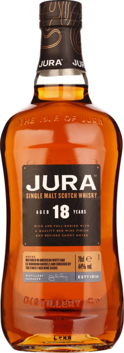 Isle of Jura 18 years Wine Cask Finish 70CL - Aristo Spirits