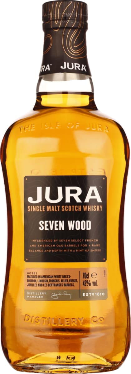 Isle of Jura Seven Wood 70CL - Aristo Spirits