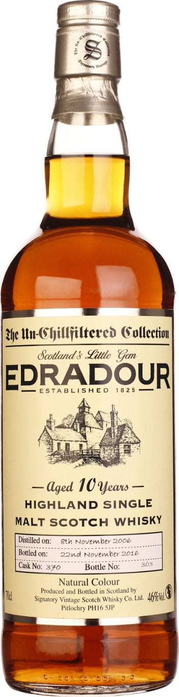 Signatory Edradour 10 years 2006 Un-Chillfiltered 70CL - Aristo Spirits