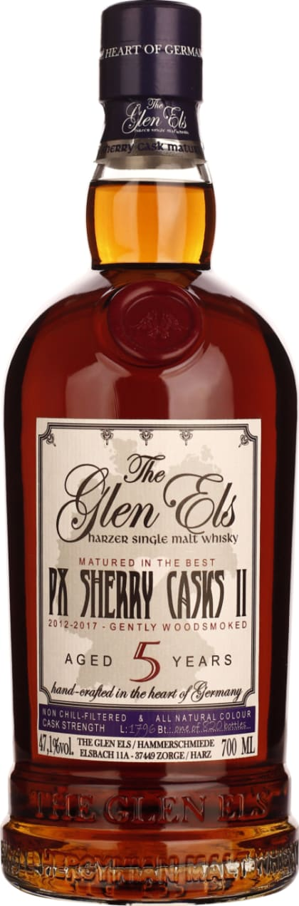 Glen Els five years PX Sherry Cask 70CL - Aristo Spirits