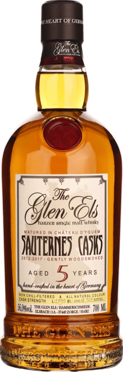 Glen Els five years Sauternes Cask 70CL - Aristo Spirits