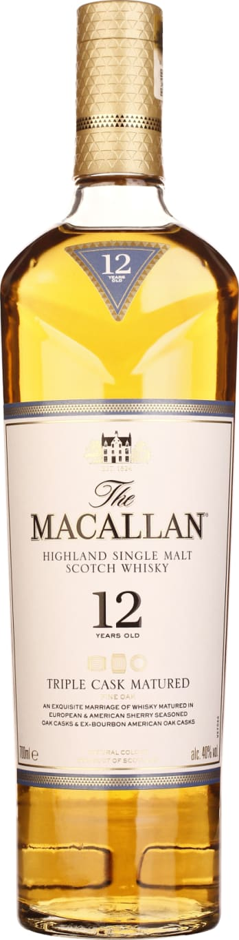 The Macallan Fine Oak 12 years Triple Cask Matured 70CL - Aristo Spirits