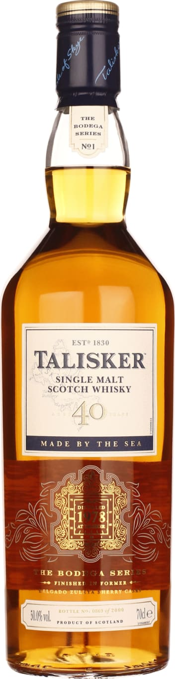Talisker 40 years Bodega Series 70CL - Aristo Spirits