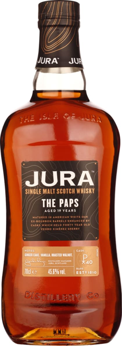 Isle of Jura 19 years The Paps 70CL - Aristo Spirits