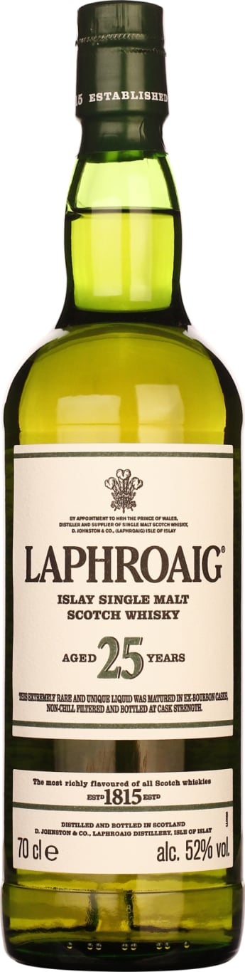 25 years Laphroaig Single Malt 2018 Release 70CL - Aristo Spirits