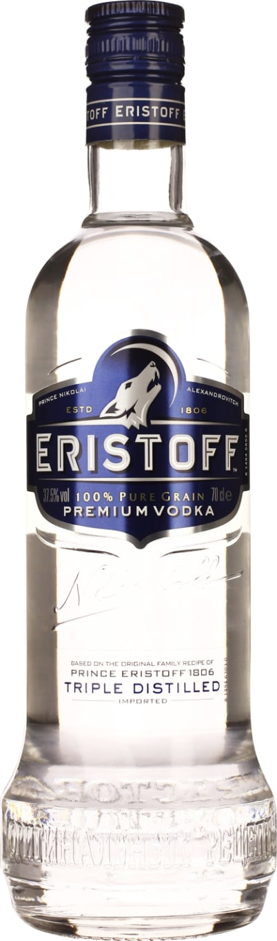 Eristoff Vodka 70CL - Aristo Spirits