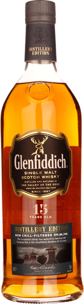 15 years Glenfiddich Distillery Edition 1LTR - Aristo Spirits