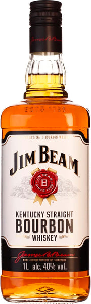 Jim Beam White 1LTR - Aristo Spirits