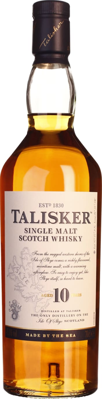 Talisker Single Malt 10 years 70CL - Aristo Spirits