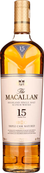 The Macallan Fine Oak 15 years Triple Cask 70CL - Aristo Spirits