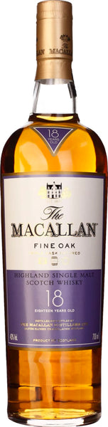The Macallan Fine Oak 18 years 70CL - Aristo Spirits