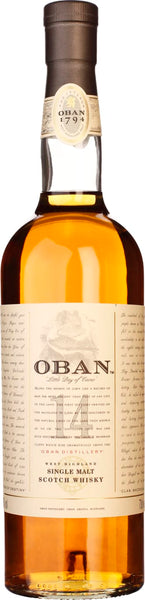 Oban 14 years Single Malt 70CL - Aristo Spirits