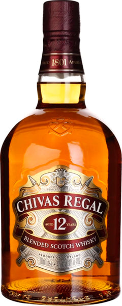 Chivas Regal 12 years 1LTR - Aristo Spirits