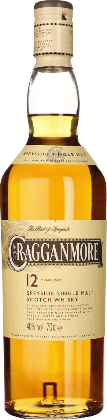 Cragganmore 12 years Single Malt 70CL - Aristo Spirits