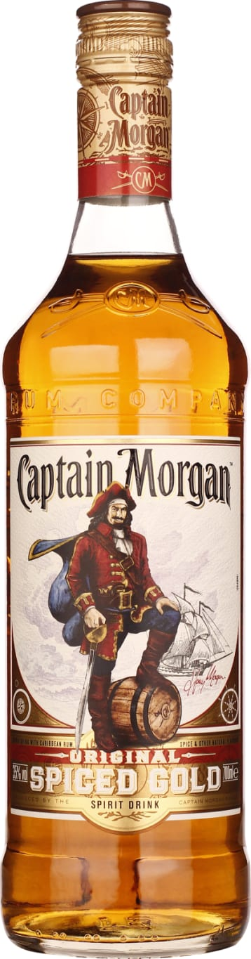 Captain Morgan Spiced Gold 70CL - Aristo Spirits