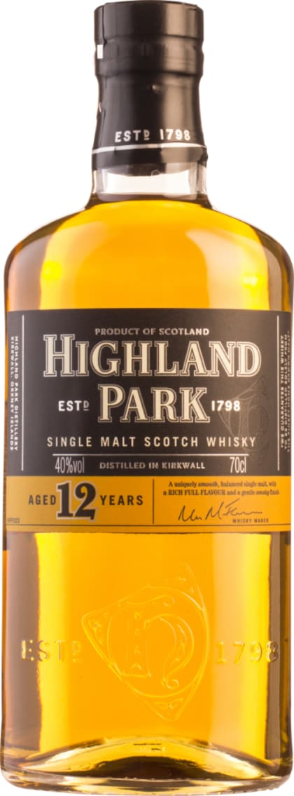 Highland Park 12 years Single Malt 70CL - Aristo Spirits