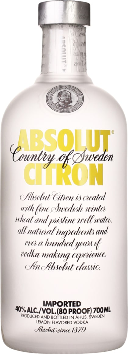 Absolut Citron 70CL - Aristo Spirits
