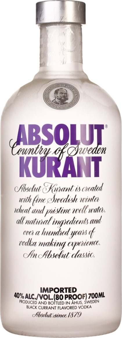 Absolut Kurant 70CL - Aristo Spirits