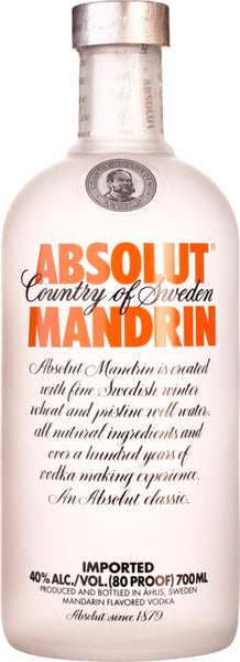 Absolut Mandrin 70CL - Aristo Spirits