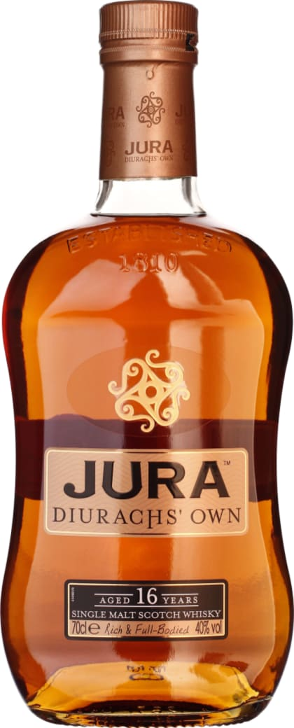 Isle of Jura 16 years Diurachs Own 70CL - Aristo Spirits