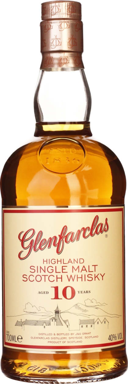 Glenfarclas 10 years Single Malt 70CL - Aristo Spirits