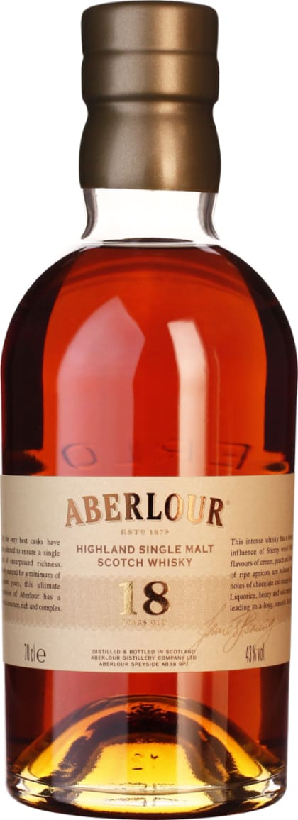 Aberlour 18 years Single Malt 70CL - Aristo Spirits