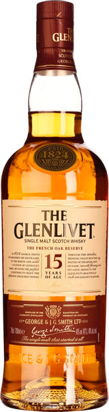 The Glenlivet 15 years French Oak 70CL - Aristo Spirits