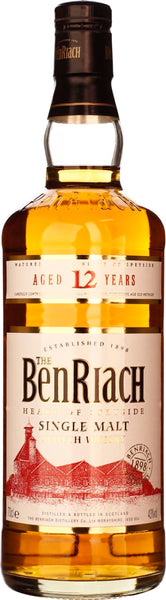 Benriach 12 years Single Malt 70CL - Aristo Spirits