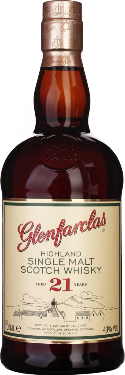 Glenfarclas 21 years Single Malt 70CL - Aristo Spirits