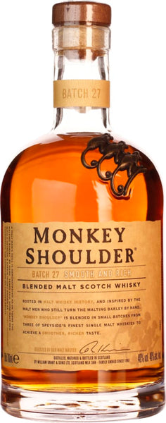Monkey Shoulder 70CL - Aristo Spirits