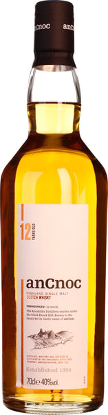An Cnoc 12 years Single Malt 70CL - Aristo Spirits