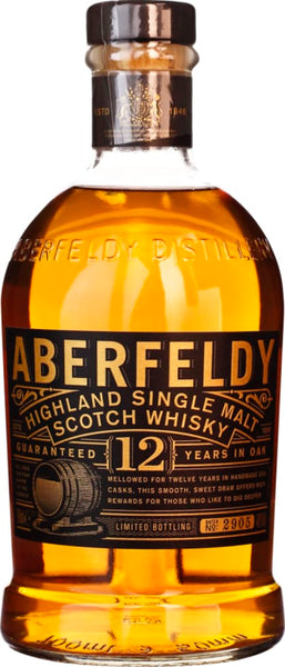 Aberfeldy Single Malt 12 years 70CL - Aristo Spirits