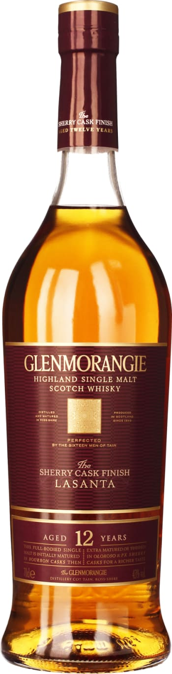 Glenmorangie Lasanta 12 years 70CL - Aristo Spirits