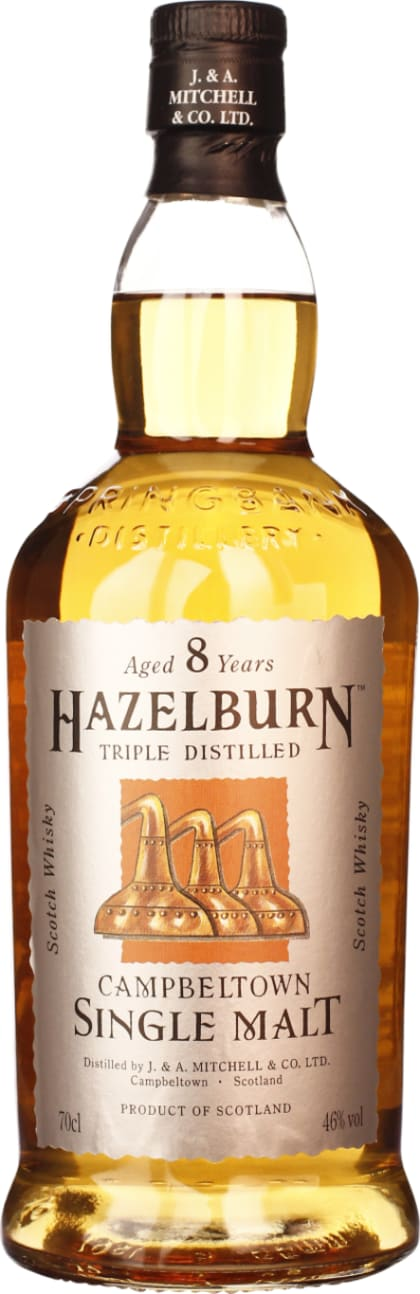 Hazelburn 8 years 70CL - Aristo Spirits