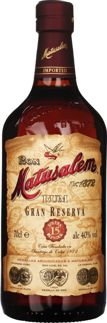 Matusalem Gran Reserva 15 years 70CL - Aristo Spirits