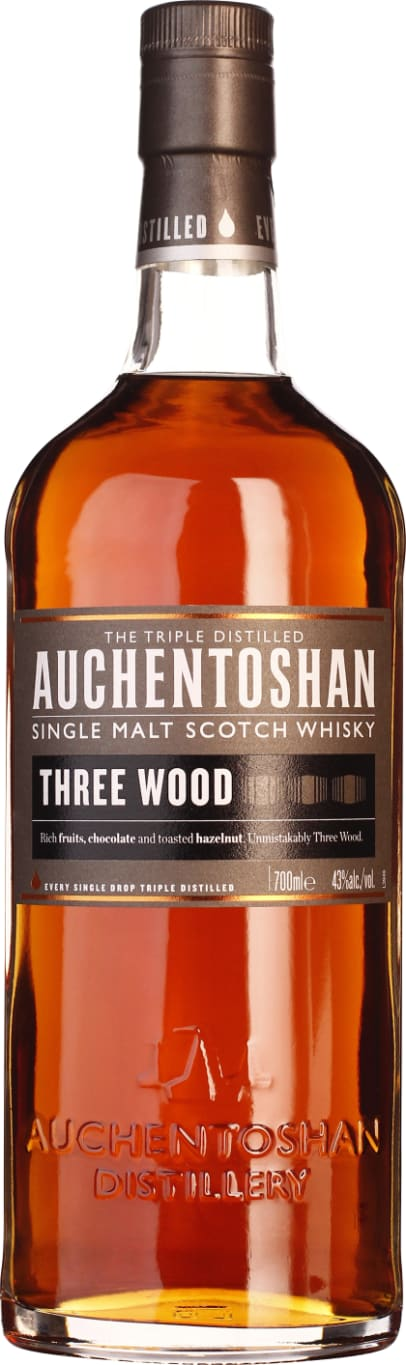 Auchentoshan Three Wood 70CL - Aristo Spirits