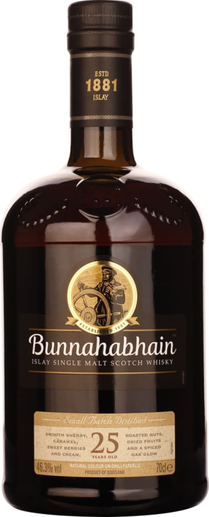 Bunnahabhain Single Malt 25 years 70CL - Aristo Spirits