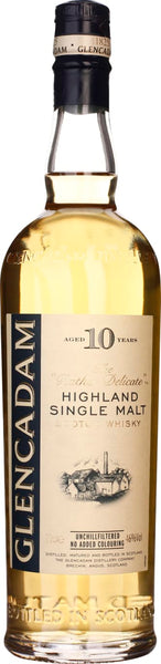 Glencadam 10 years Single Malt 70CL - Aristo Spirits