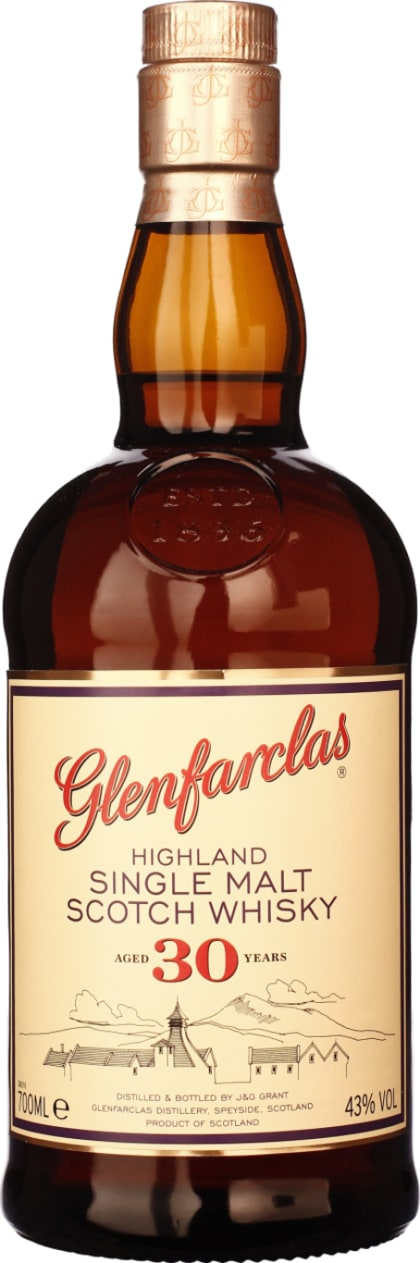 Glenfarclas Single Malt 30 years 70CL - Aristo Spirits