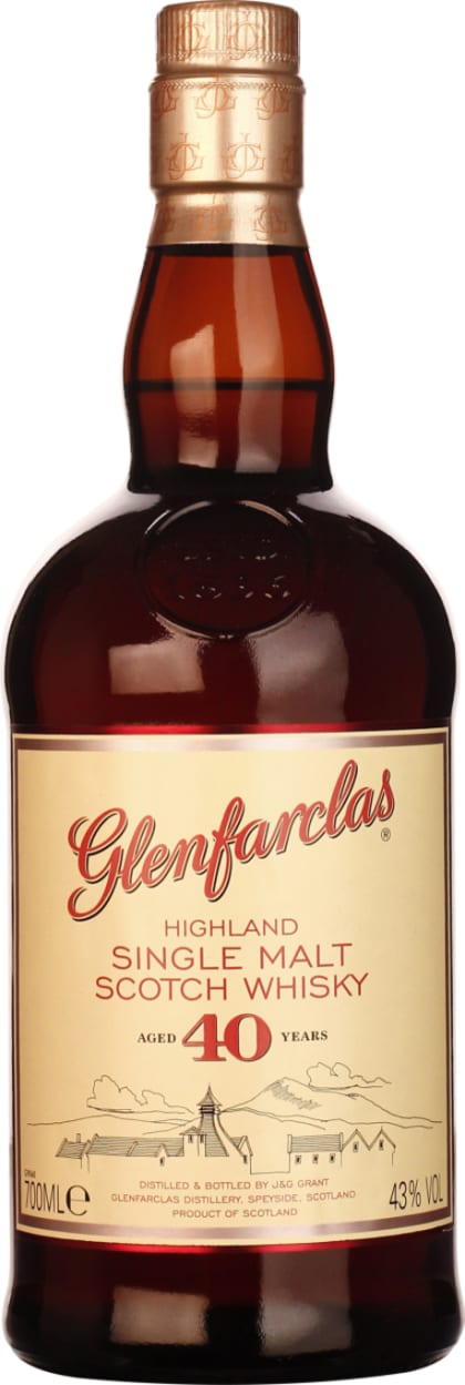 Glenfarclas Single Malt 40 years 70CL - Aristo Spirits